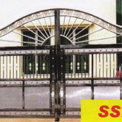 SS 22 Stainless Steel '304' Main Gate
