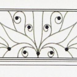 Wrought Iron Railing (Normal) 012