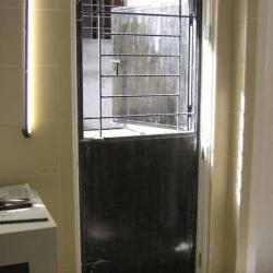 Mild Steel Kitchen Door 2(门中门)