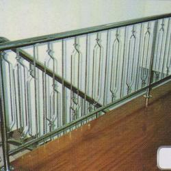 Stainless Steel '304' Balcony Railing (Curve) 06