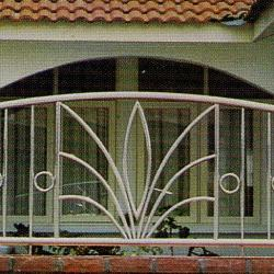 Stainless Steel '304' Balcony Railing (Curve) SSR 01