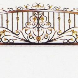 Wrought Iron Railing (Normal) 007