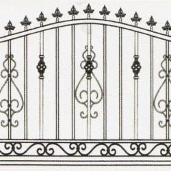 Wrought Iron Railing (Normal) 008