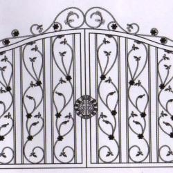 WG 002 Wrought Iron Main Gate