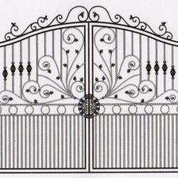 WG 003 Wrought Iron Main Gate