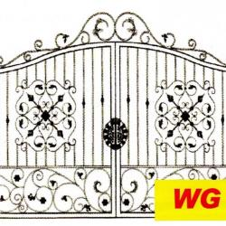 WG 004 Wrought Iron Main Gate