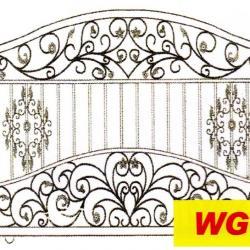 WG 006 Wrought Iron Main Gate