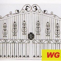 WG 009 Wrought Iron Main Gate