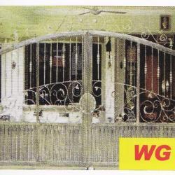 WG 011 Wrought Iron Main Gate