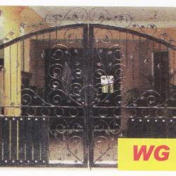 WG 012 Wrought Iron Main Gate
