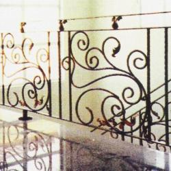 Wrought Iron Balcony Railing (Curve) 022