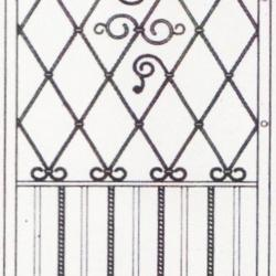 Wrought Iron (Window) 001
