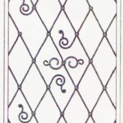 Wrought Iron (Door) 003