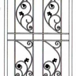 Wrought Iron (Door) 012